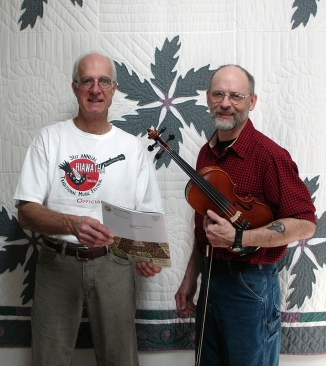 Walter Krahn was presented with the HMC Youth/First Timer Scholarship in 2011 for the fiddle.